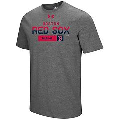 Men's Under Armour Boston Red Sox Heat Gear Clean Up Tee