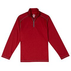 Boys 8-20 & Husky Chaps Performance Quarter-Zip Top