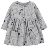 Baby Girl Carter's Print Henley Dress