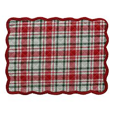 St. Nicholas Square® Plaid Placemat
