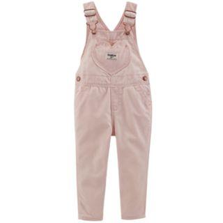 Baby Girl OshKosh B'gosh® Heart Overalls