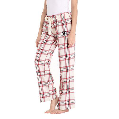 6d2d1a5f Women's Atlanta Falcons Flannel Pajama Pants