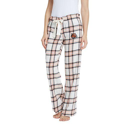 Women s Cincinnati Bengals Flannel Pajama Pants 550463bdaf