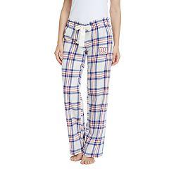 Women's New York Giants Flannel Pajama Pants