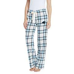 Women's Carolina Panthers Flannel Pajama Pants