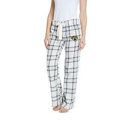 Women's Jacksonville Jaguars Flannel Pajama Pants