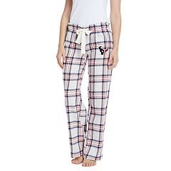 Women's Houston Texans Flannel Pajama Pants