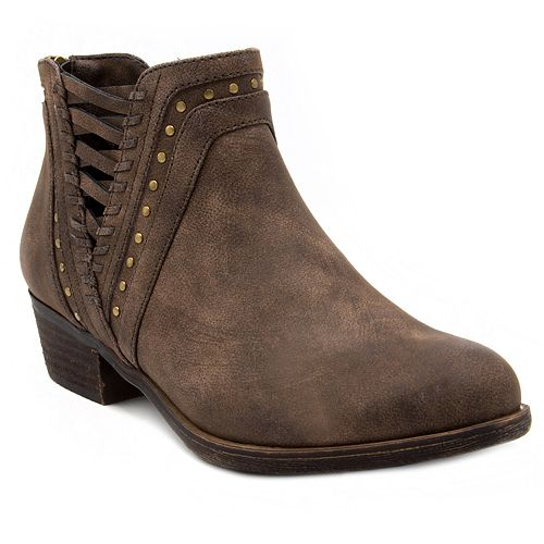 sugar Threaded Women's Ankle Boots