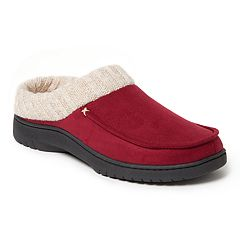 Women's Dearfoams Knit Cuff Clog Slippers