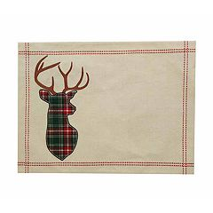 St. Nicholas Square® Deer Applique Placemat