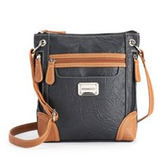 Stone   Company Nancy Crossbody Bag. Black Tan Black 49a4bd4d0e