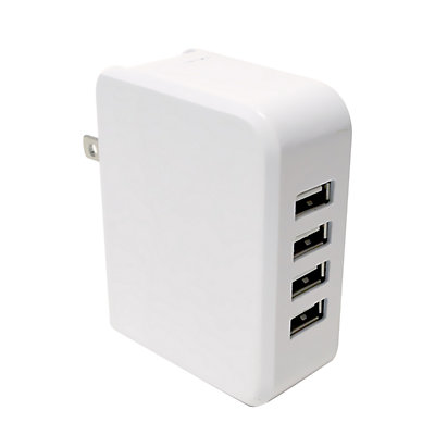 Gems 4-Port Wall Charger