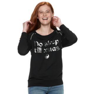 "Disney's The Nightmare Before Christmas Juniors' ""No Sleep Till Xmas"" Top"