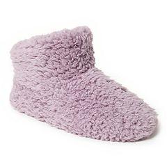 Women's Dearfoams Fluffy Pile Bootie Slipper