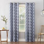 Sun Zero 1-Panel Clarke Thermal Insulated Curtain