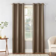 Sun Zero 1-Panel Cooper Thermal Insulated Curtain