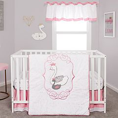 Trend Lab Swans 3 Piece Crib Bedding Set