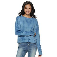 Juniors' SO® Zipper Fleece Crop Pullover