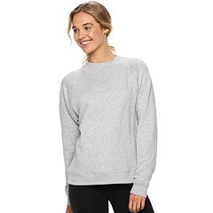 Juniors' SO® Mockneck Solid Fleece Sweatshirt