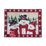 St. Nicholas Square® Snowman Tapestry Placemat