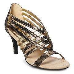 New York Transit Company Valuable Treasure Women's High Heel Sandals