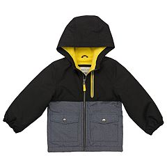 Toddler Boy Carter's Colorblock Hooded Heavyweight Jacket