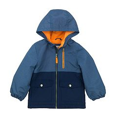 Toddler Boy Carter's Colorblock Hooded Lightweight Jacket