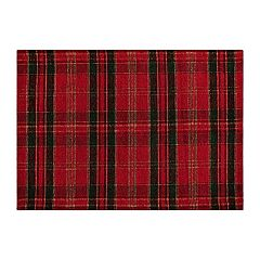 St. Nicholas Square® Plaid Tapestry Placemat