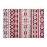 St. Nicholas Square® Fairisle Tapestry Placemat