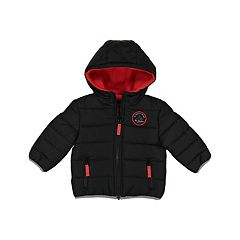 Toddler Boy Carter's Quilted Hooded Heavyweight Jacket