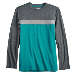 Boys 8-20 & Husky Urban Pipeline® Chest-Stripe Tee