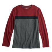 Boys 8-20 & Husky Urban Pipeline? Chest-Stripe Tee
