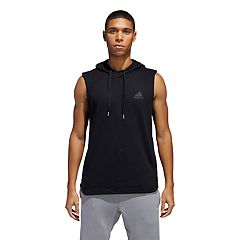 Men's adidas Shooter Hooded Muscle Tee
