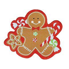St. Nicholas Square® Gingerbread Vinyl Placemat