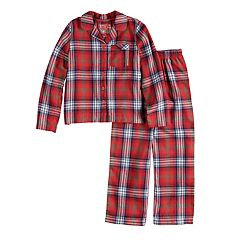 Girls 7-16 Jammies For Your Families Plaid Flannel Top & Bottoms Pajama Set