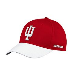 Adult adidas Indiana Hoosiers Sideline Structured Flex-Fit Cap