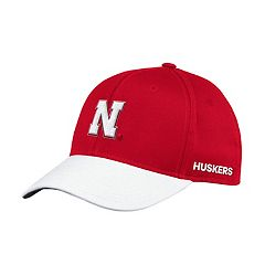 Adult adidas Nebraska Cornhuskers Sideline Structured Flex-Fit Cap