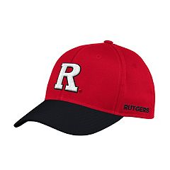 Adult adidas Rutgers Scarlet Knights Sideline Structured Flex-Fit Cap