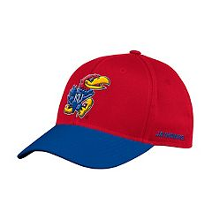 Adult adidas Kansas Jayhawks Sideline Structured Flex-Fit Cap