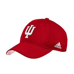 Adult adidas Indiana Hoosiers Sideline Adjustable Cap