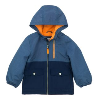 Baby Boy Carter's Colorblock Hooded Midweight Jacket