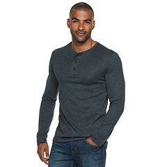 Men's Marc Anthony Slim-Fit Slubbed Sweater Henley