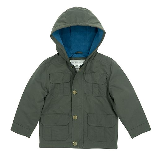 Baby Boy Carter's Midweight Hooded Jacket
