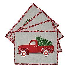 St. Nicholas Square® Truck Placemat 4-pack