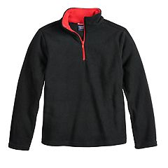 Boys 8-20 French Toast Quarter-Zip Mircro Fleece Top