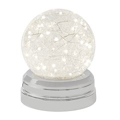 Laura Ashley Lifestyles LED Christmas Snow Globe