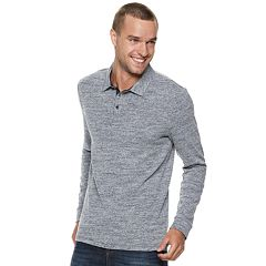 Men's Marc Anthony Slim-Fit Sweater Slubbed Polo