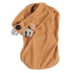 Pet Jammies For Your Families Reindeer Microfleece Bodysuit