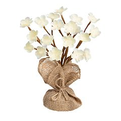 Laura Ashley Lifestyles Artificial Magnolia Flower Tree Table Decor