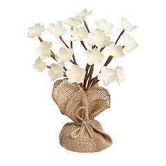 Laura Ashley Lifestyles Artificial Magnolia Flower Tree Table Decor
